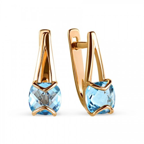 14ct/585 Russian Gold Aqua...