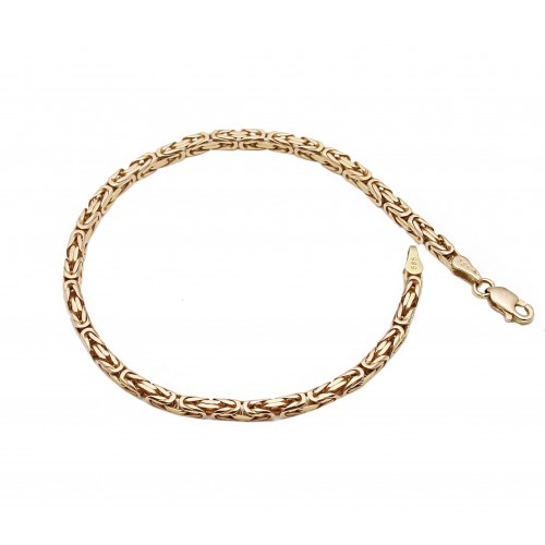 585 Rose Gold Byzantine...