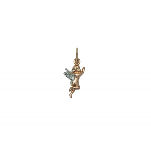 Small Angel Pendant in 14k...