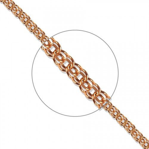 45cm 585 Russian Rose Gold...