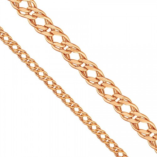 18cm 585 Russian Rose Gold...