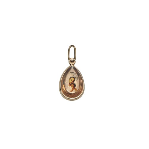 Small St. Mary Pendant in...