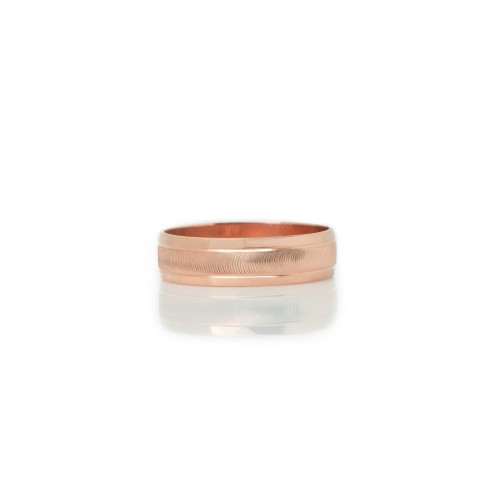 14k Rose Gold Wedding...