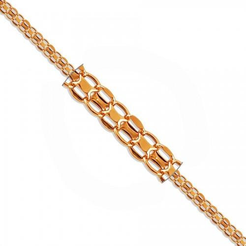 Rose Gold Bismark Bracelet