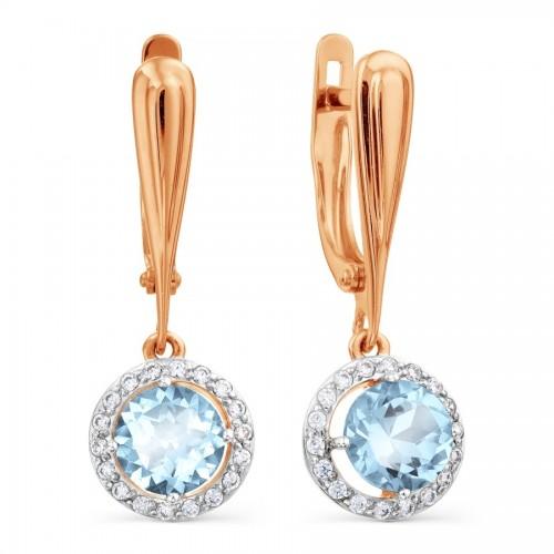 14k Rose Gold Earrings