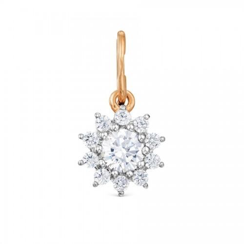 Rose Gold 14ct Snowflake...