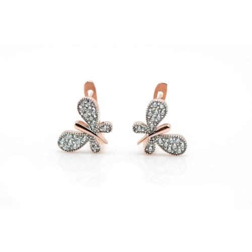 Butterfly Earrings in 14k...