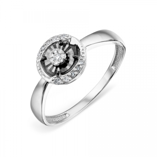 585 14k White Gold Diamond...